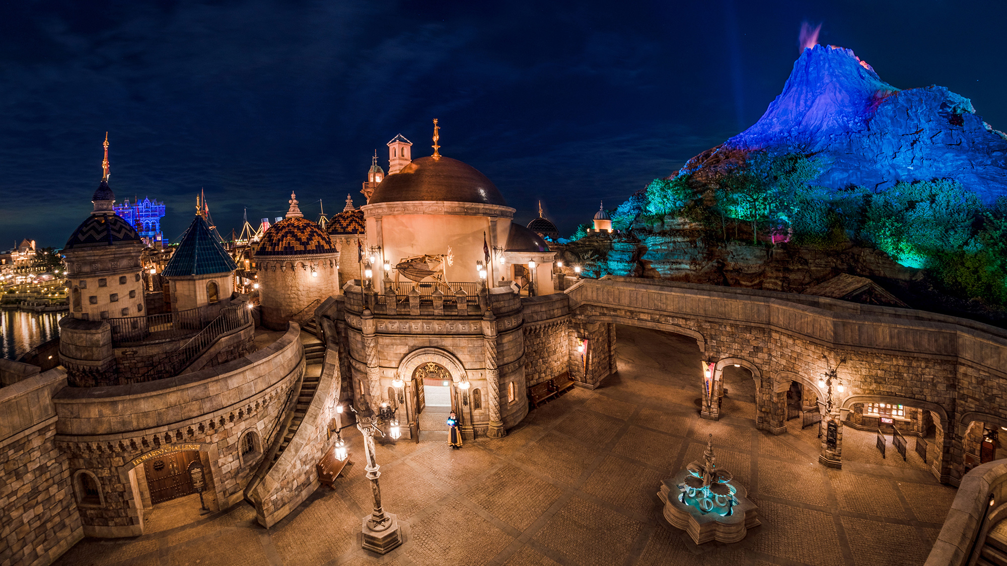 Disney Parks After Dark: Fortress Explorations at Tokyo DisneySea