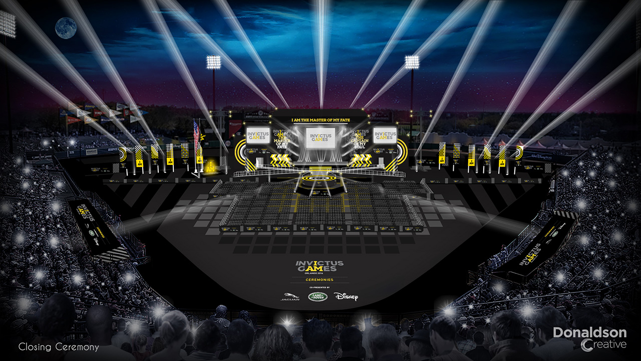 Invictus Games Orlando 2016 Cap Off Inspirational Week