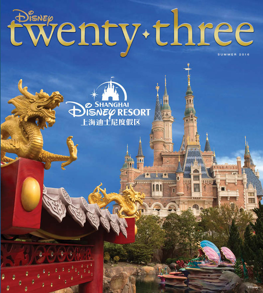 Go Inside Shanghai Disney Resort with Disney twenty-three
