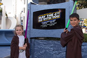 Disneyland Park Guests Celebrate May the 4th