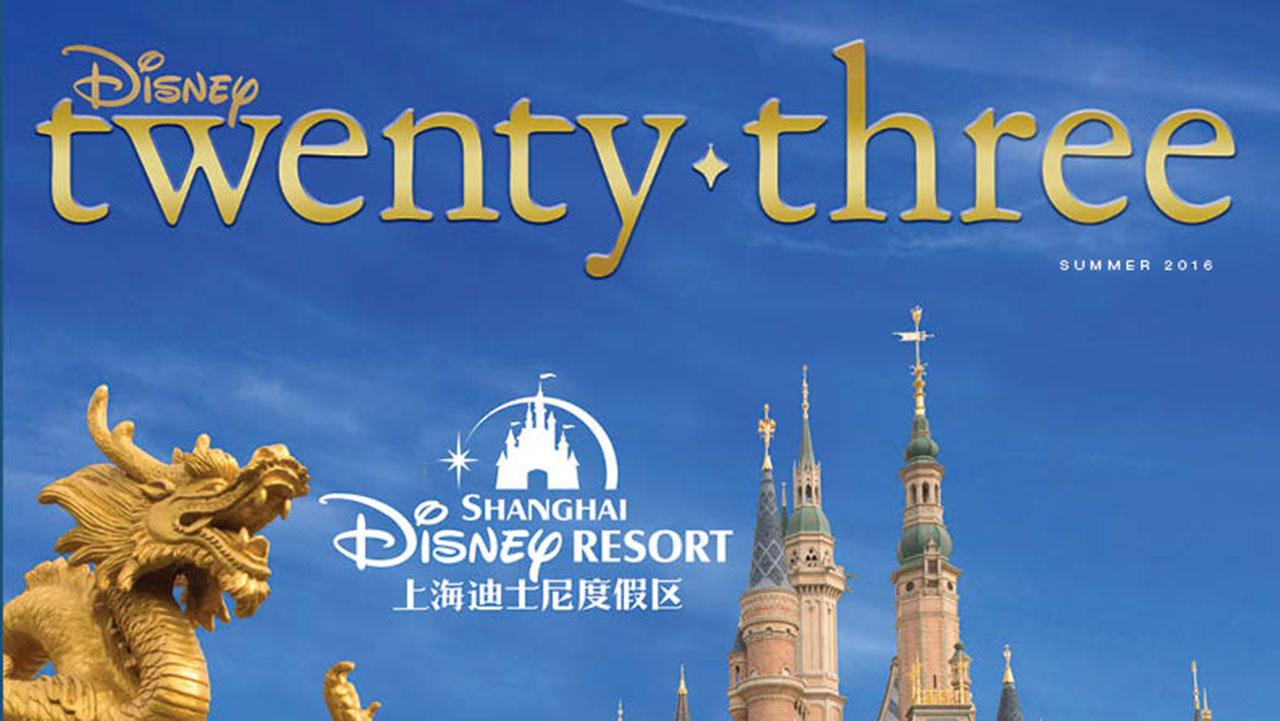 Go Inside Shanghai Disney Resort with Disney twenty-three