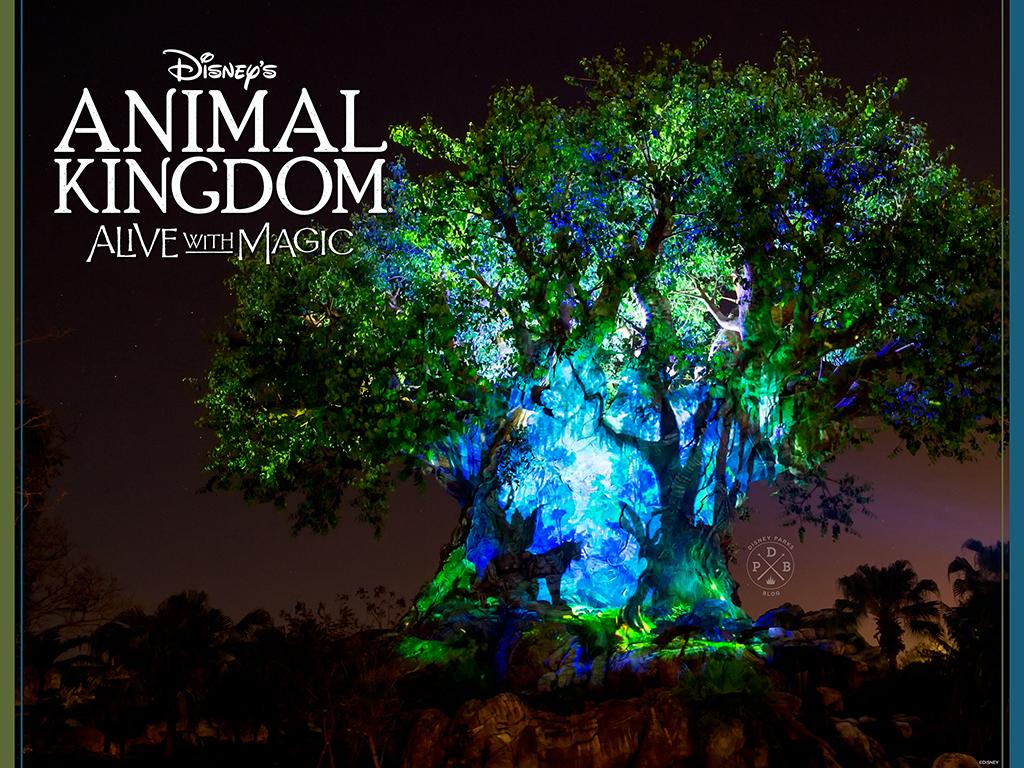 Disney's Animal Kingdom 'Nighttime'-Inspired Wallpaper