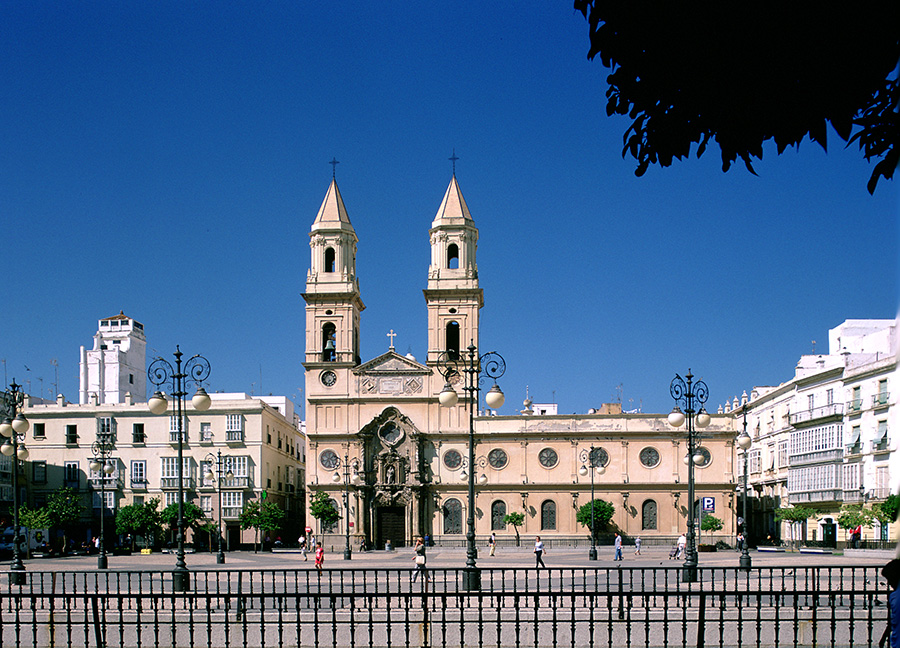 Baroque Cathedral in Cadiz Spain - Port Adventures with Disney Cruise Line