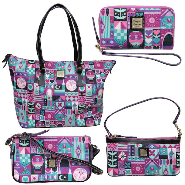 Dooney & Bourke Products Inspired by the Classic Disney Parks Attraction it's a small world'