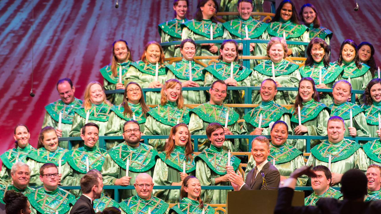 Disney's Candlelight Processional at Epcot at Walt Disney World Resort
