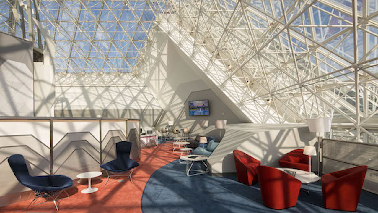 New Disney Vacation Club Member Lounge at Epcot