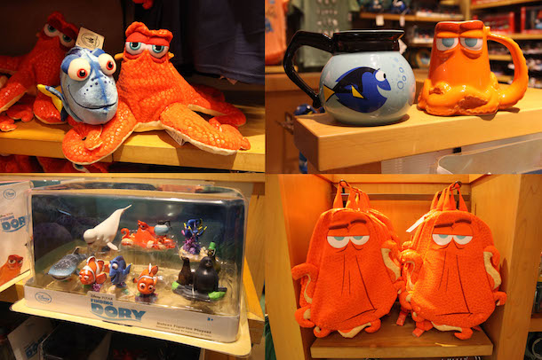 'Finding Dory' Merchandise Swims into Shops at Disney Parks
