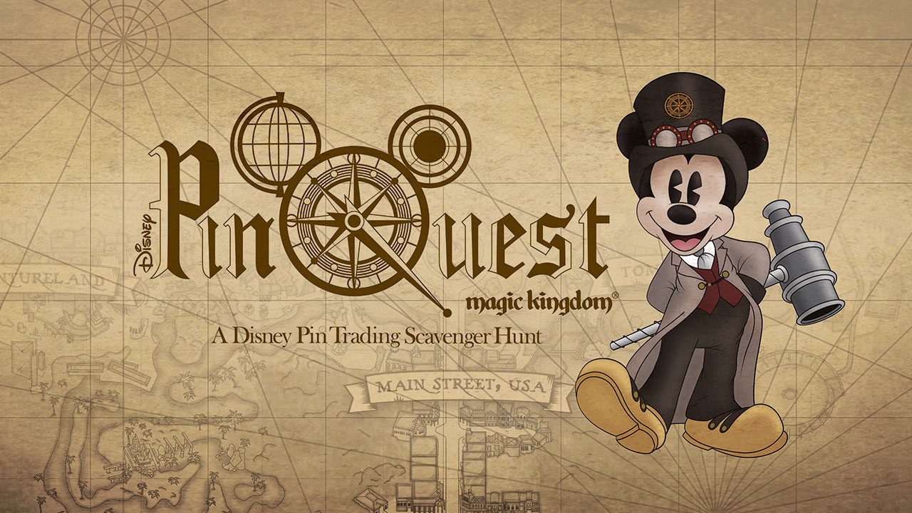 New Disney PinQuest Coming to Magic Kingdom Park