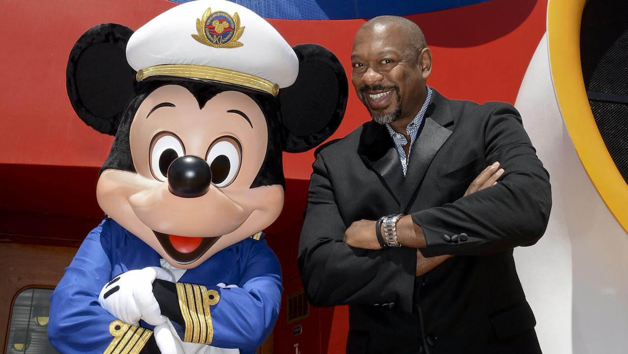 Alton Fitzgerald White on the Disney Magic