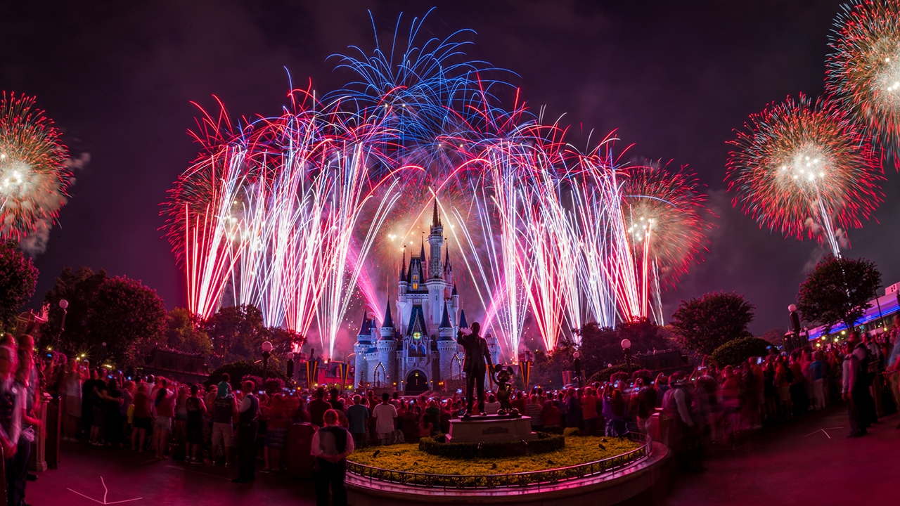 #DisneyParksLIVE: Watch 'Disney's Celebrate America! A Fourth of July Concert in the Sky' Tonight at 8:50 p.m. ET