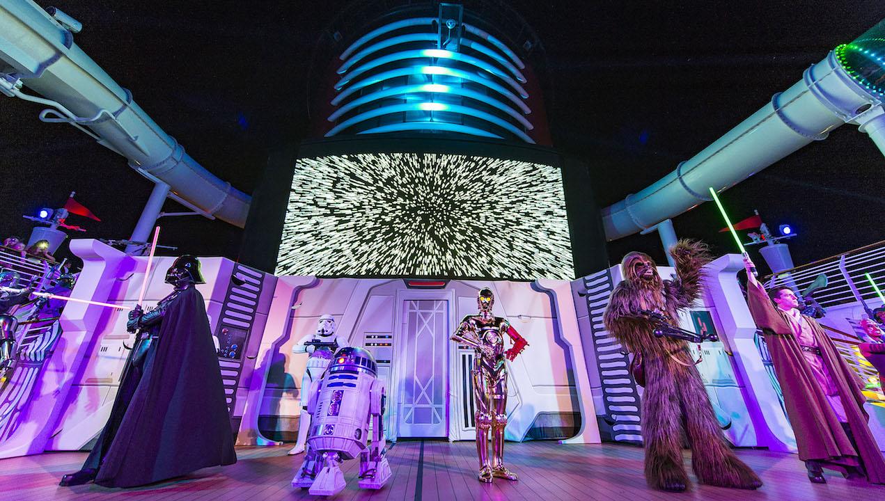Inaugural Season of Star Wars Day at Sea