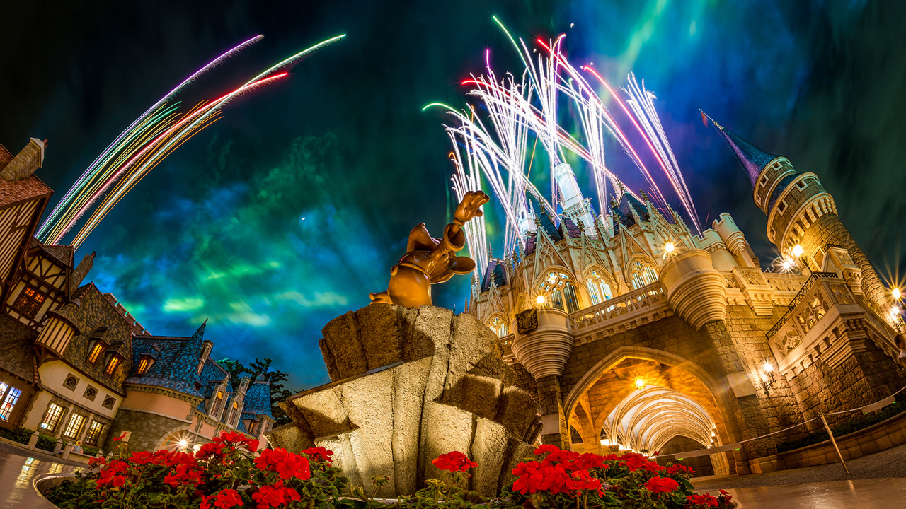 Disney Parks After Dark: Tokyo's 'Once Upon A Time' Fireworks