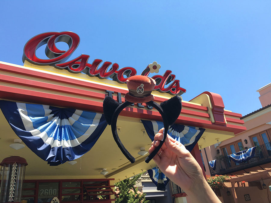 New Oswald and Ortensia Merchandise Debuts at Disney California Adventure Park