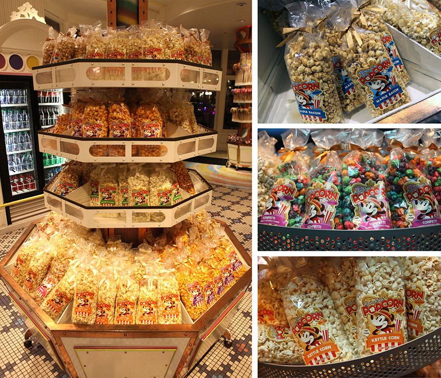 Main Street Popcorn Company Pops Fresh New Flavors at Disney Parks