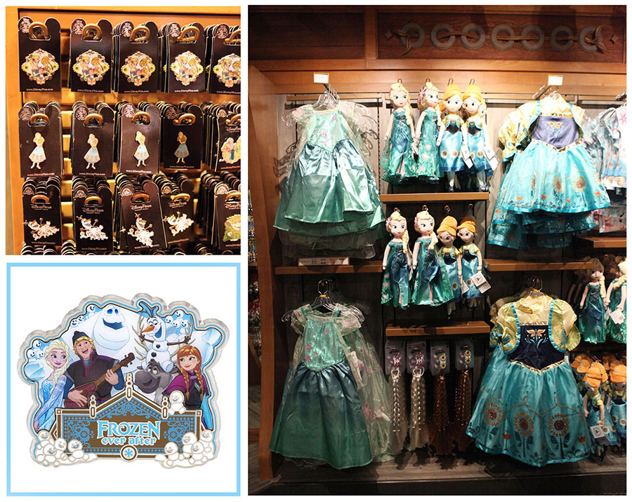 "Celebrate a Summer Snow Day with New ""Frozen"" Products in Norway Pavilion at Epcot"