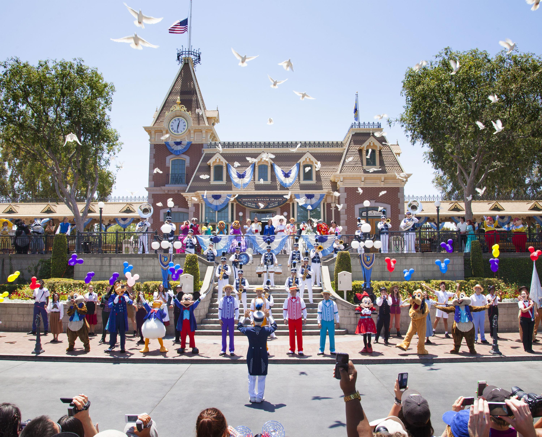 Disneyland Resort Celebrates 61 Years
