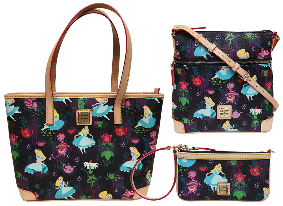 "Dooney & Bourke Alice in Wonderland ""Tea Time"" Collection"