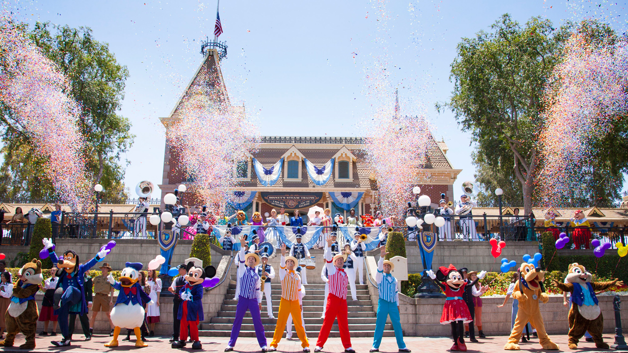 Disneyland Resort Celebrates 61 Years