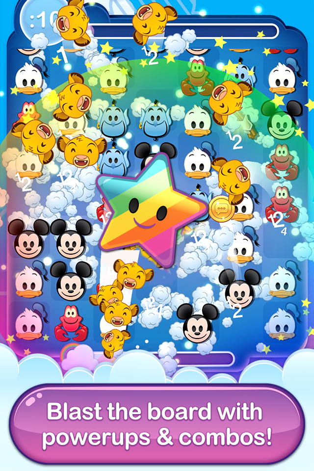 Disney Emoji Blitz Game