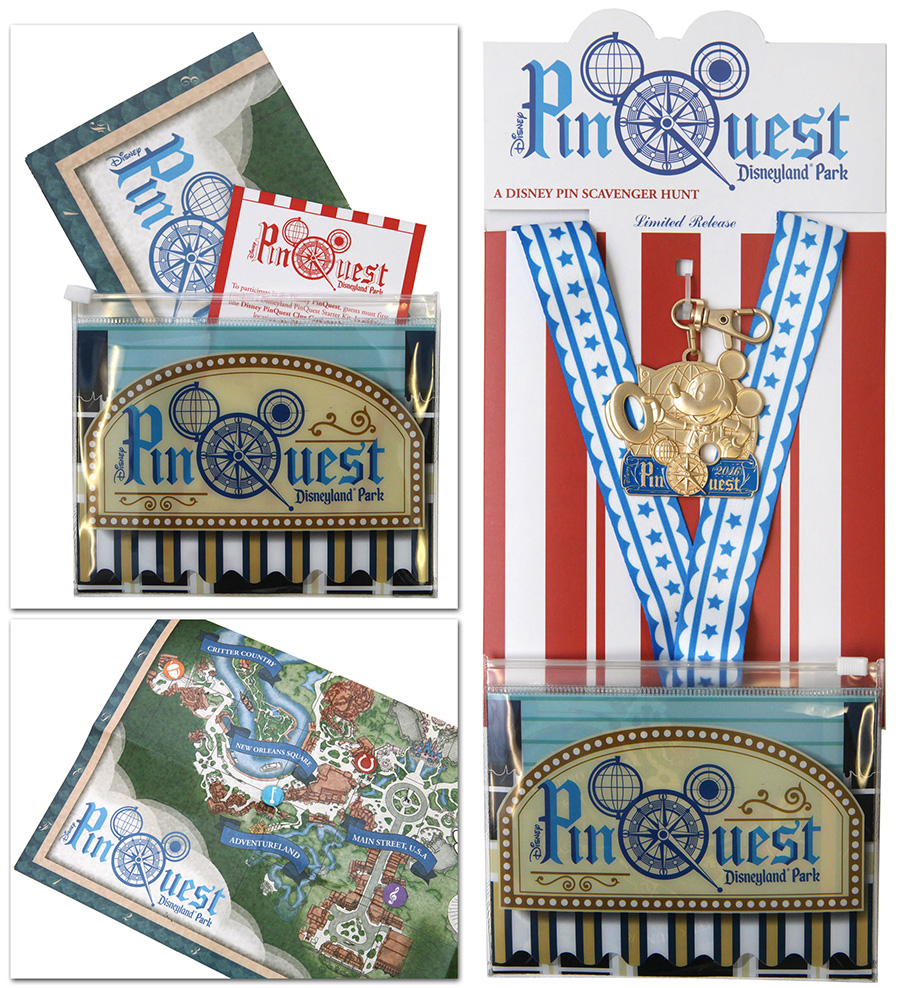 Disneyland Resort PinQuest Starter Kit