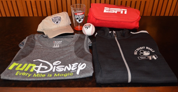 runDisney T-Shirt, ESPN Baseball, ESPN Baseball Cap, Walt Disney World Sweater