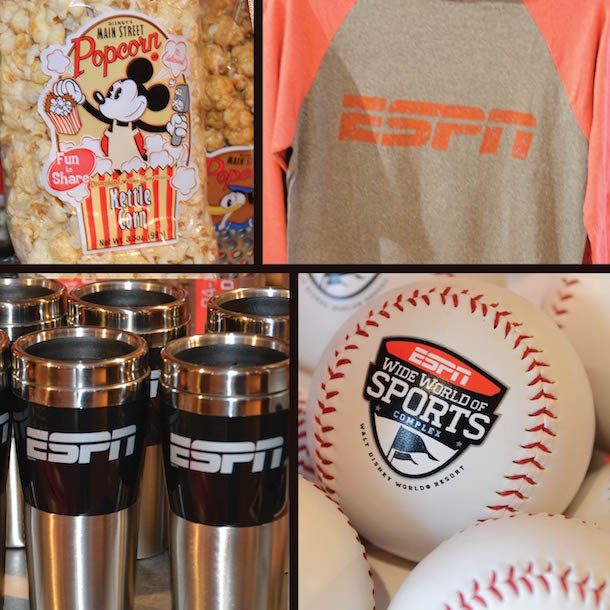 ESPN Baseball T-Shirt, ESPN Mug, ESPN World Wide Sports Baseball