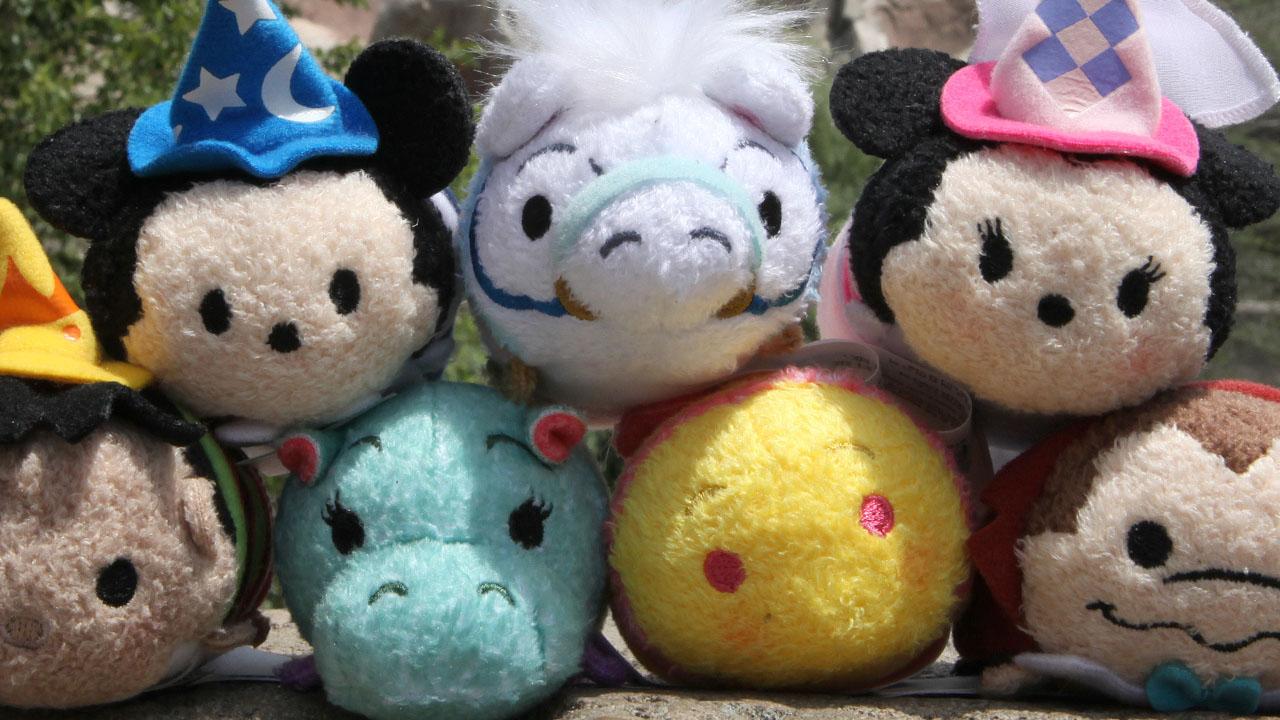 Fantasyland-Themed Disney Tsum Tsum Coming to Disney Parks on July 22, 2016