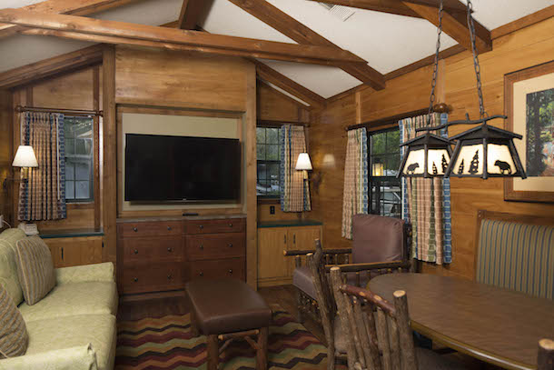 Pictures of the insides of the remodeled cabins page 6 for Disney cabins fort wilderness