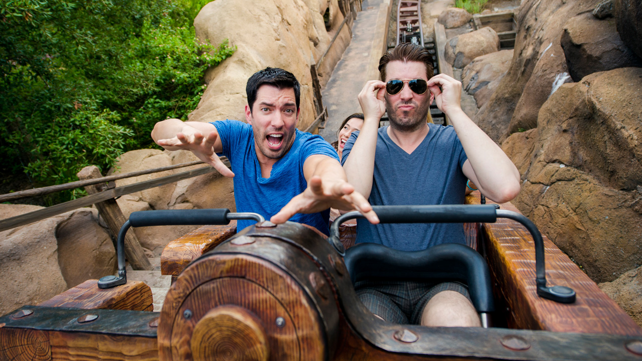 "HGTV's ""Property Brothers"" Drew and Jonathan Scott at Magic Kindom"