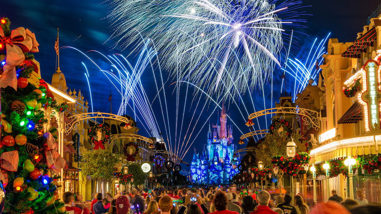 Holiday Wishes at Magic Kingdom Park