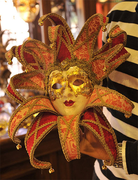 Italian Mask from Annalisa Masks