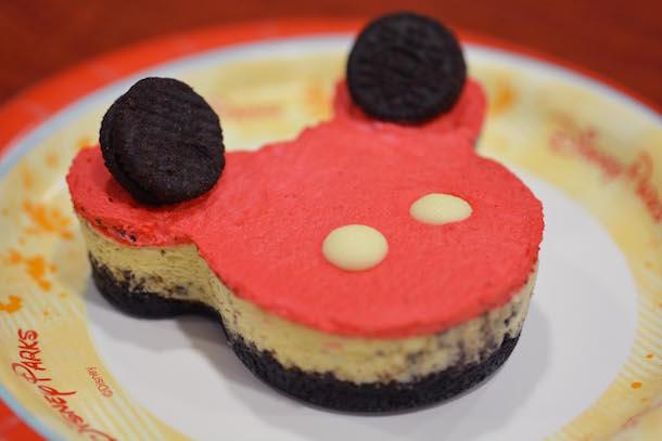 Mickey Cheesecake from Sunshine Seasons at Epcot
