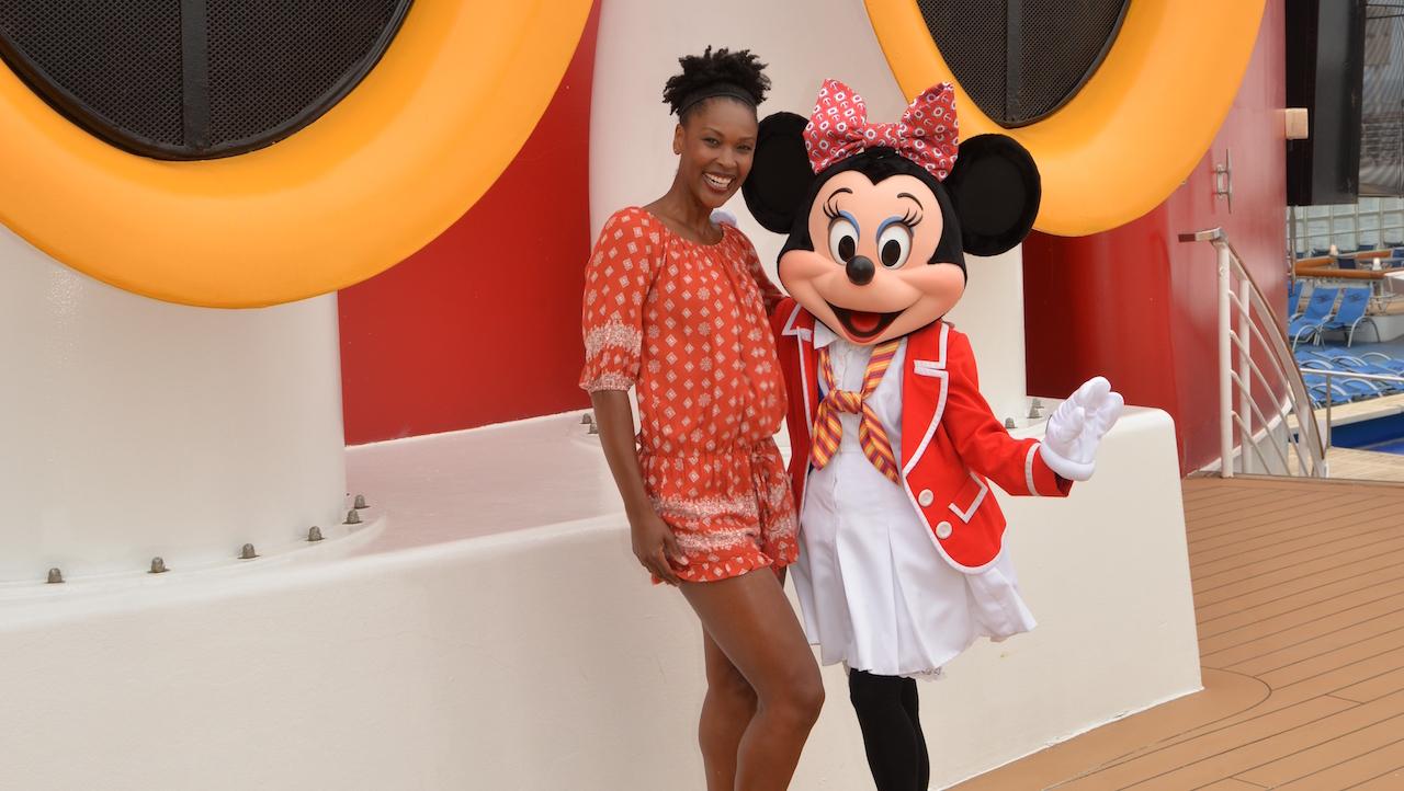 Kissy Simmons on the Disney Wonder