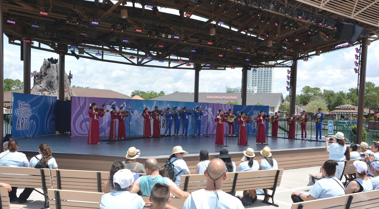 Mariachi Cobre at Epcot at Walt Disney World Resort