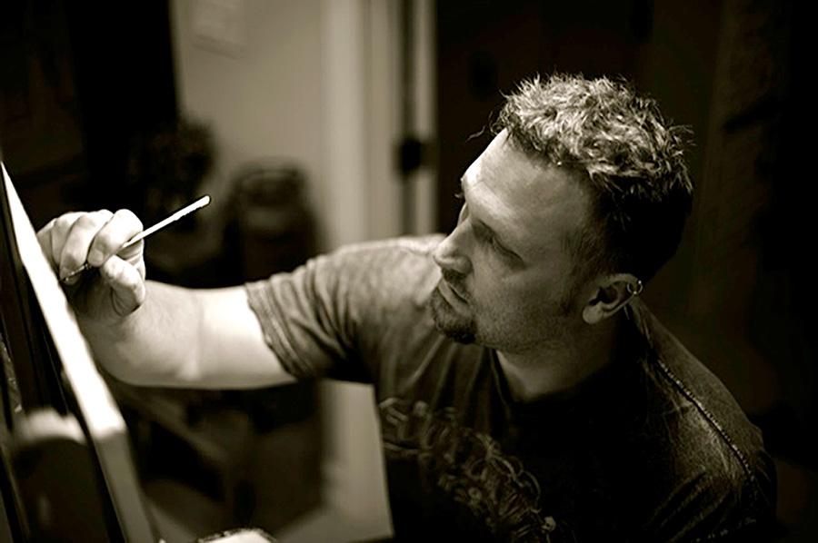 Painter Darren Wilson