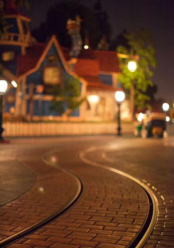The Sun Sets in Toontown at Disneyland Park