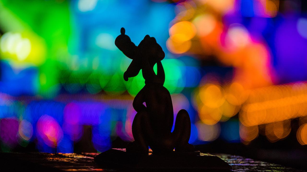 Pluto at Tokyo Disney