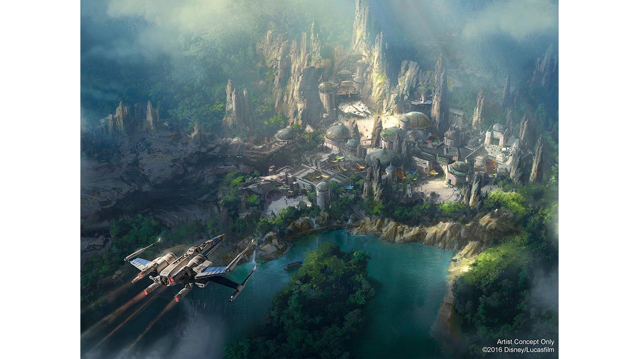 Star Wars Land en Californie SWThemedLand1280
