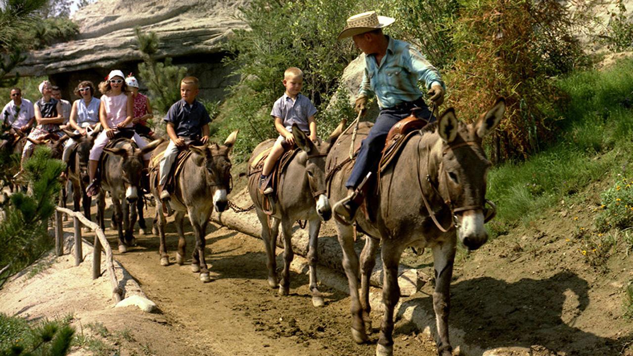 Mule Pack Original Attraction at Disneyland Park