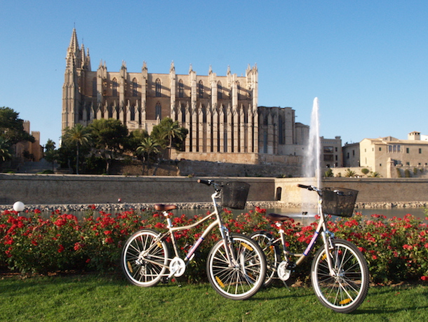 Bike Ride Through Palma de Mallorca