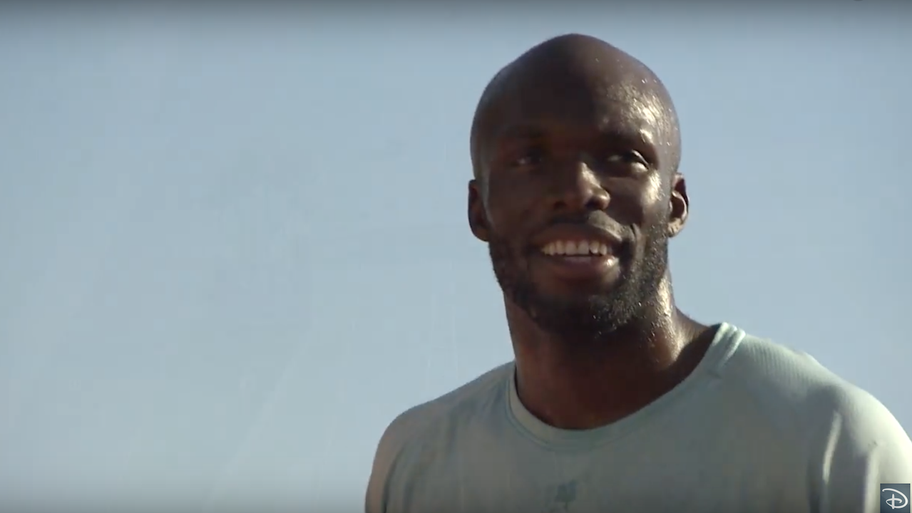 LaShawn Merritt Trains at Walt Disney World Resort Ahead Of Rio Olympic Games
