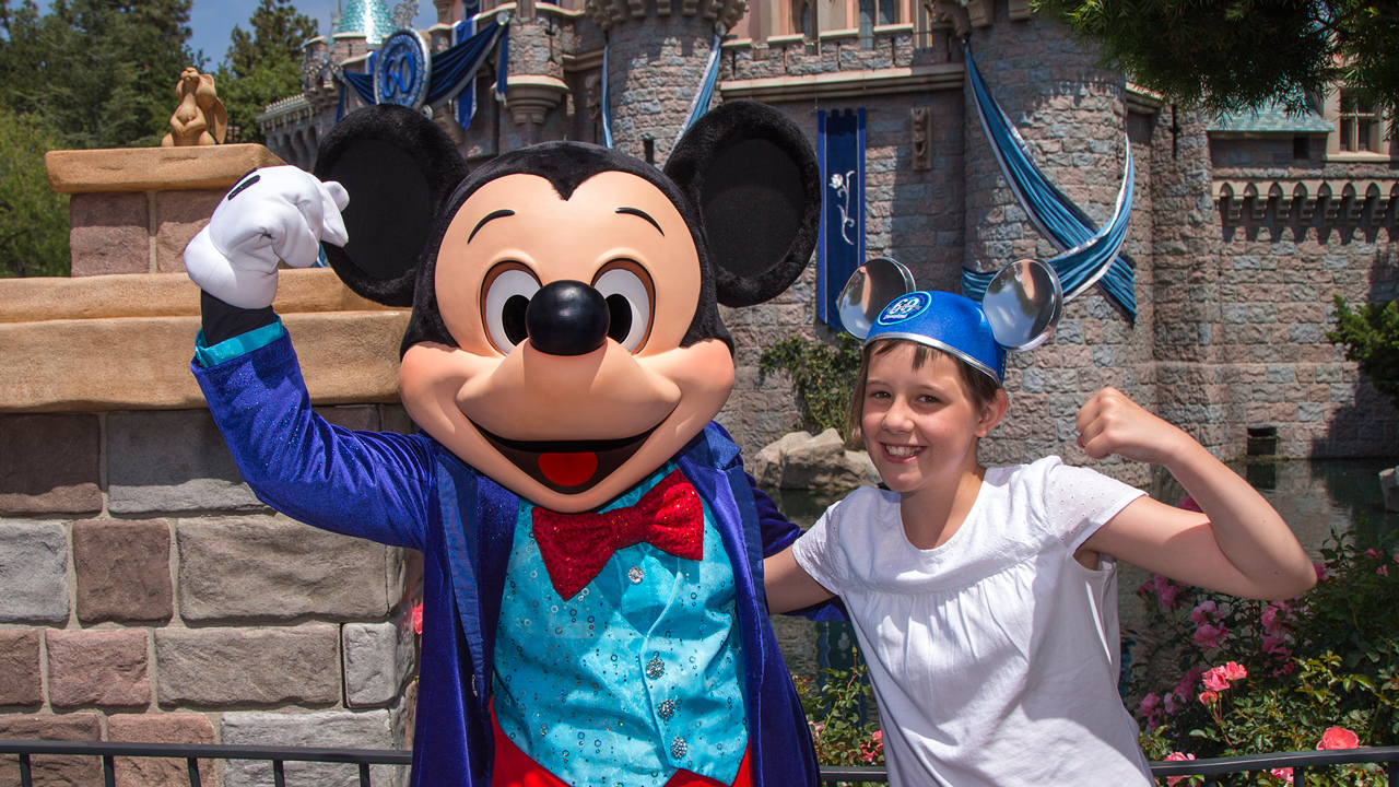 Ruby Barnhill From 'The BFG' Visits the Disneyland Resort