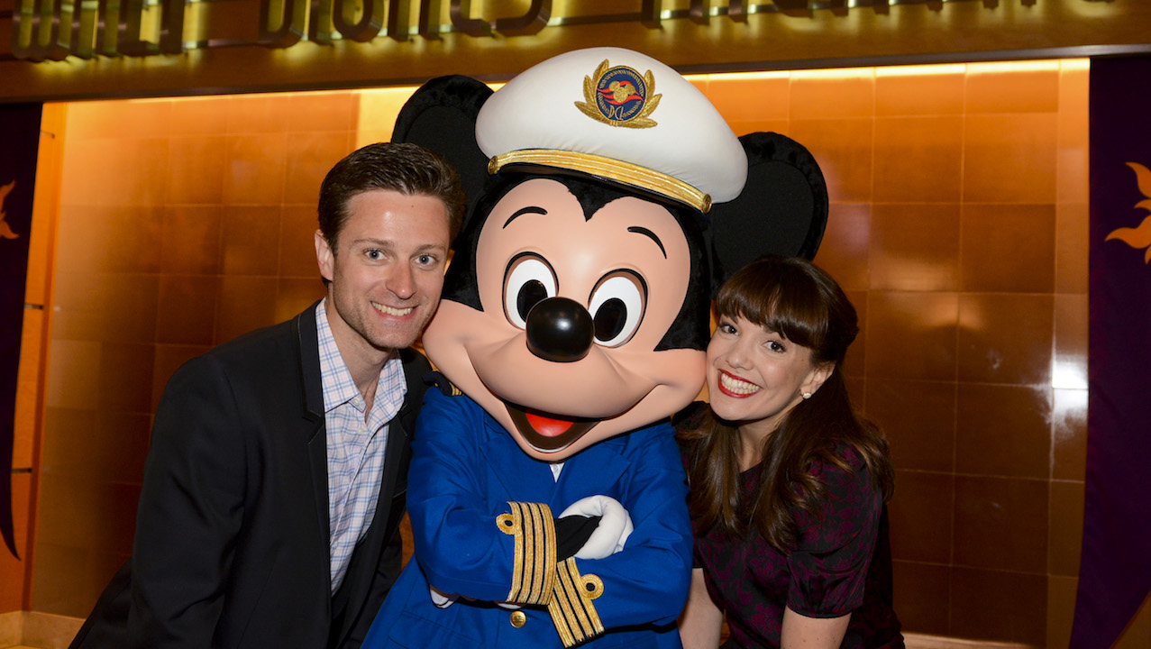 Kevin Massey and Kara Lindsay on the Disney Magic