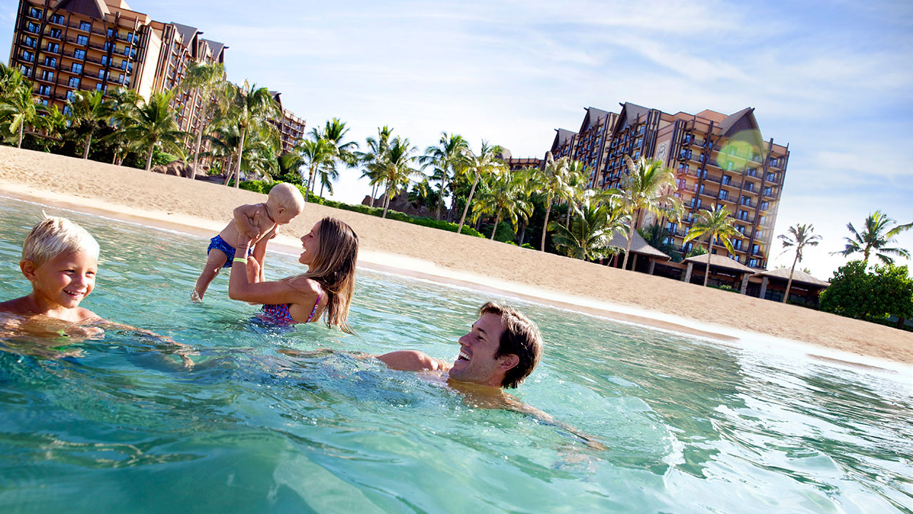 Say 'Aloha, Baby!' at Aulani, a Disney Resort & Spa