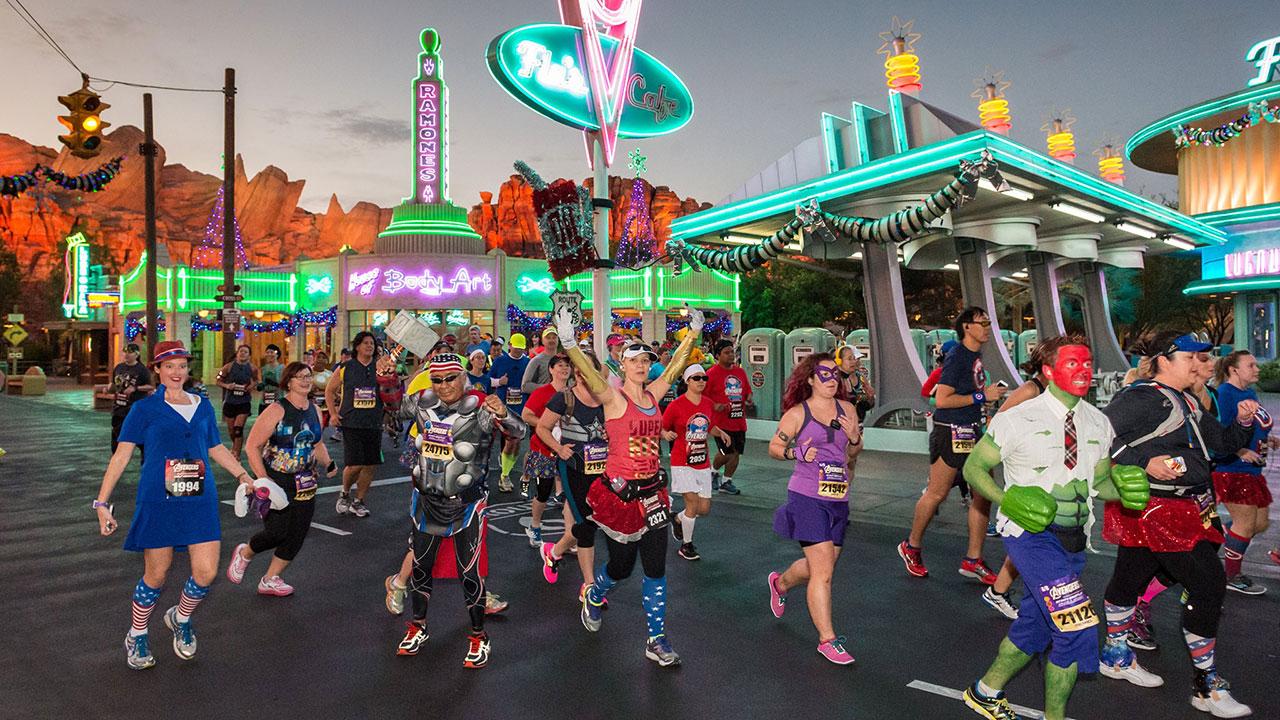 Walt Disney Records Teams Up with runDisney to create Training Playlists