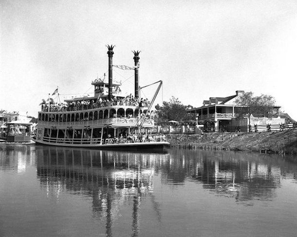 Rivers of America at Disneyland Park