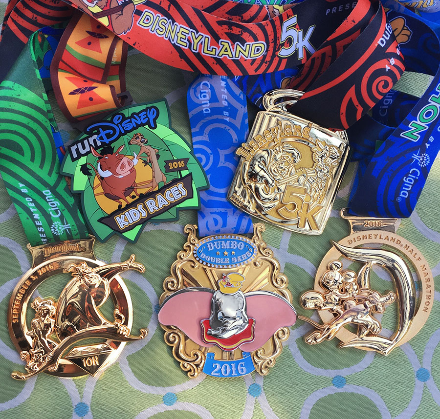 runDisney Disneyland Half Marathon Weekend Medal Reveal