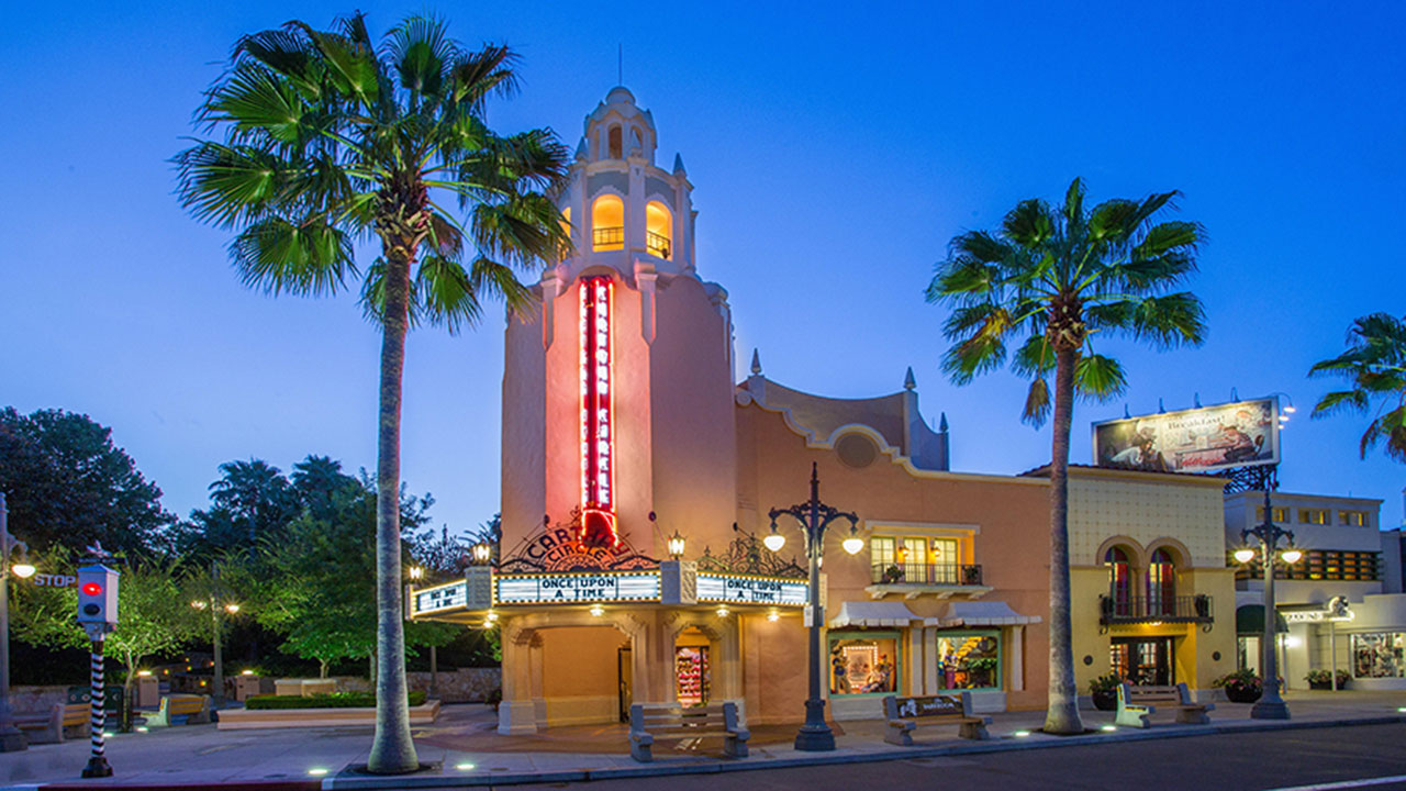 It's Dawn On Sunset Blvd at Disney's Hollywood Studios