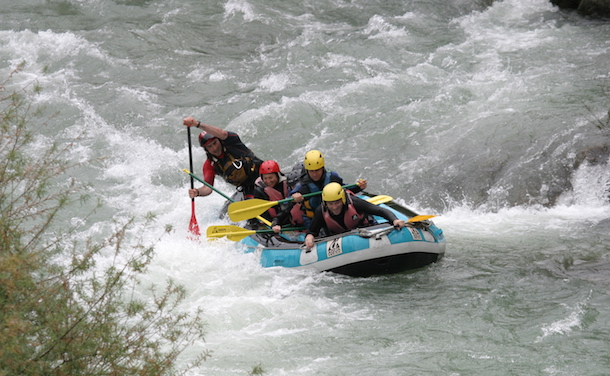 White River Rafting in France's Sea Alps with Disney Cruise Line