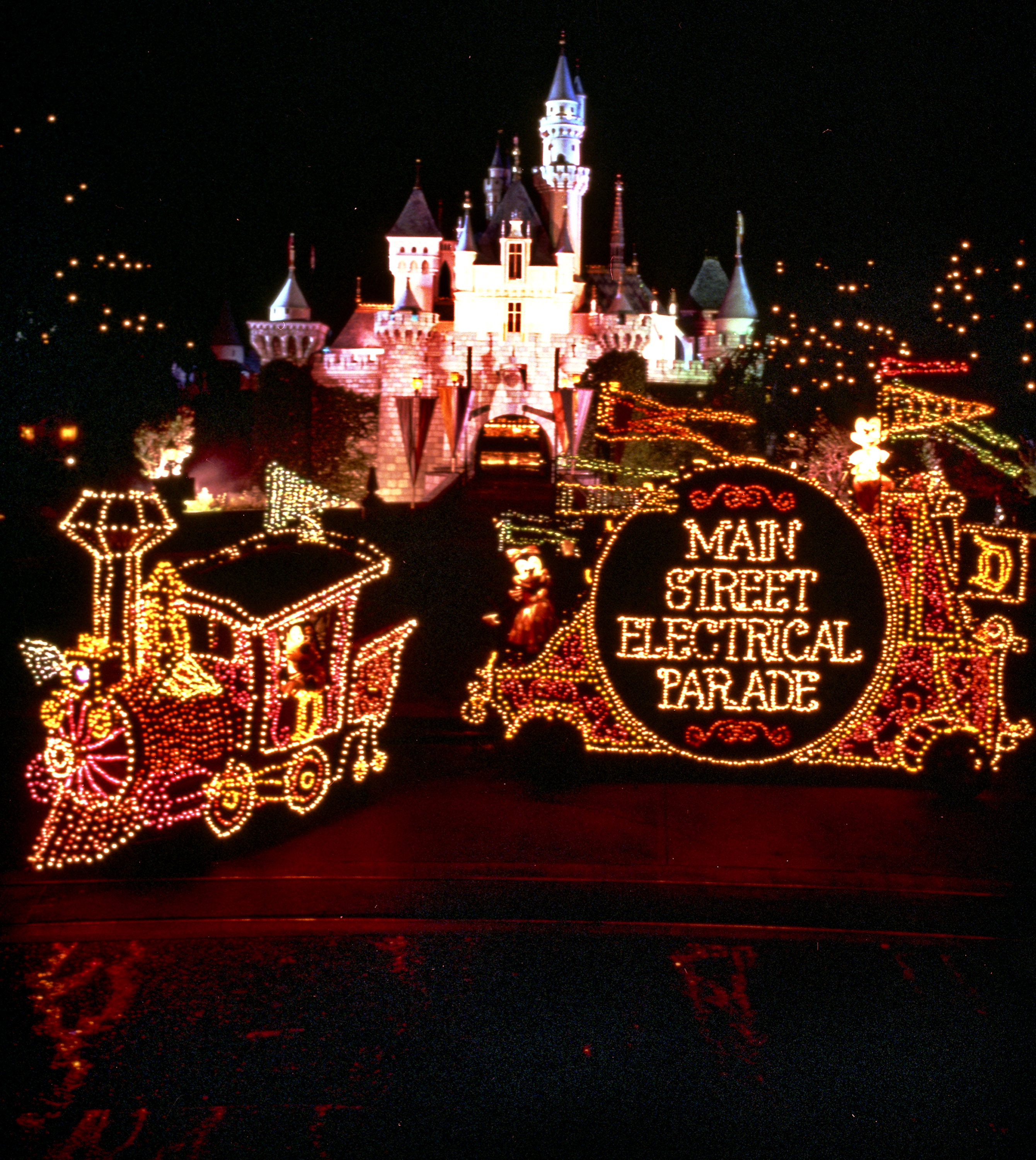 Main Street Electrical Parade at Disneyland Park